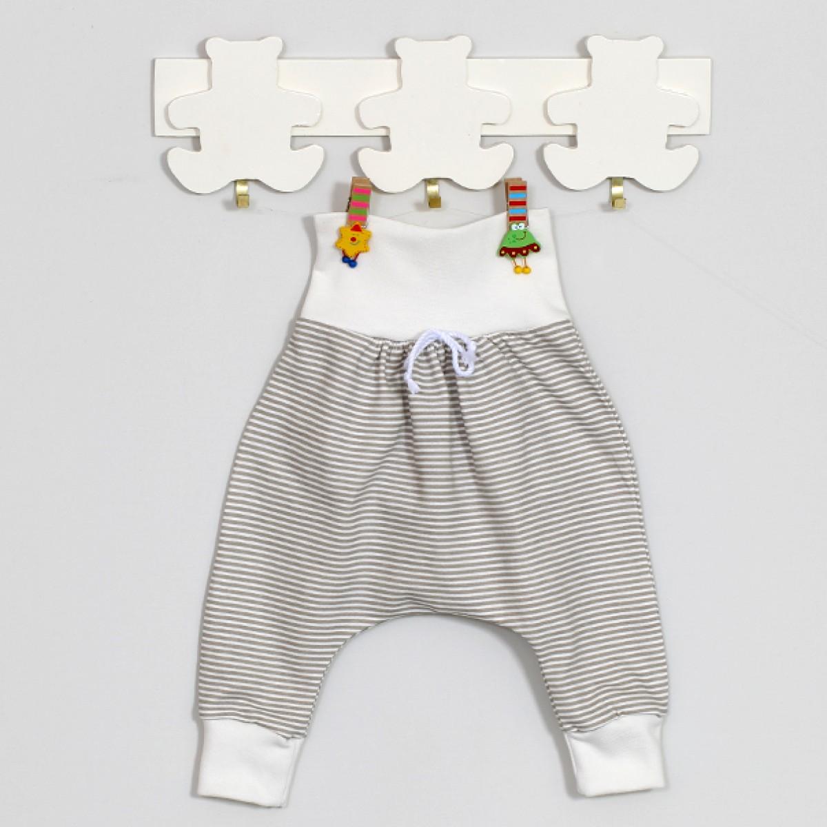 100% MEDVILNINĖS kelnytės kūdikiams, 56 cm, 62 cm,  Gee Zoo, Vilaurita (523)