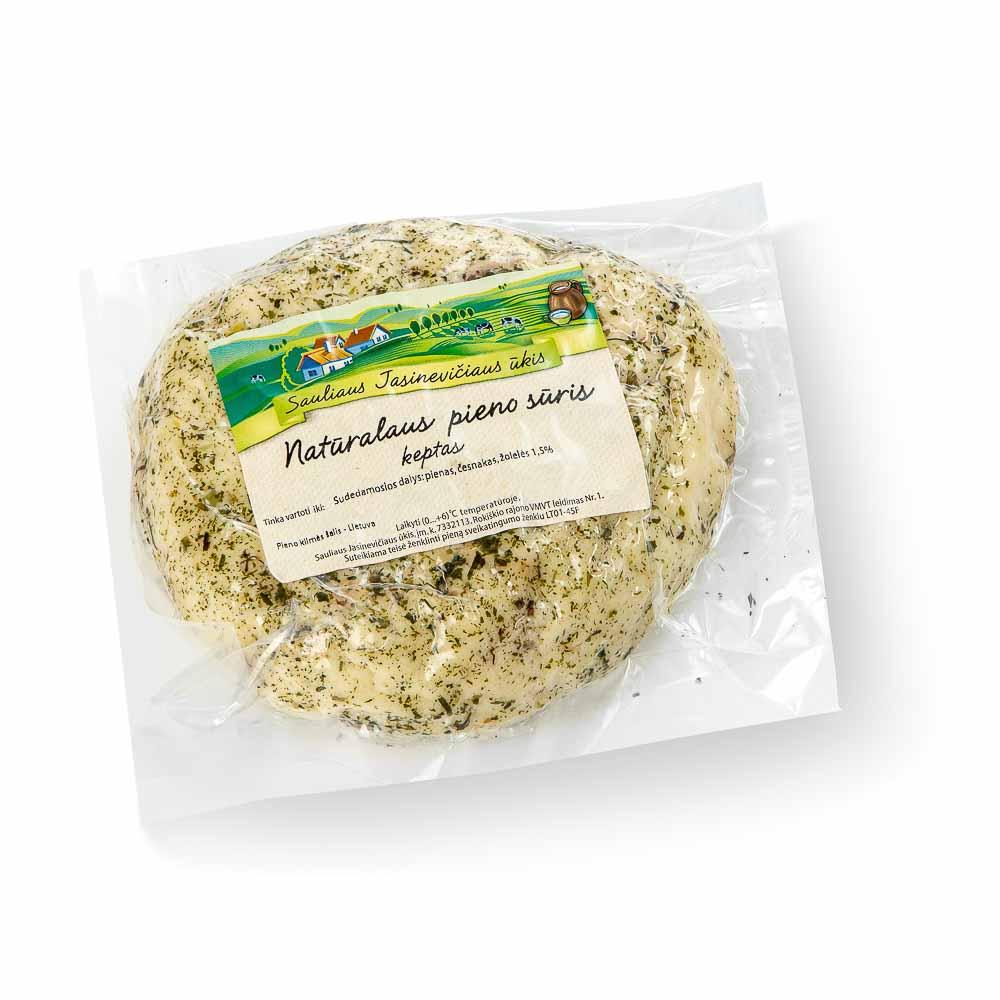 Ūkininko JASINĖVIČIAUS natūralaus pieno keptas sūris