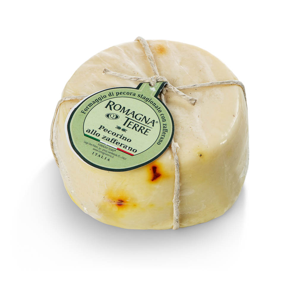 Avių pieno sūris su šafranu PECORINO Romagna Terre