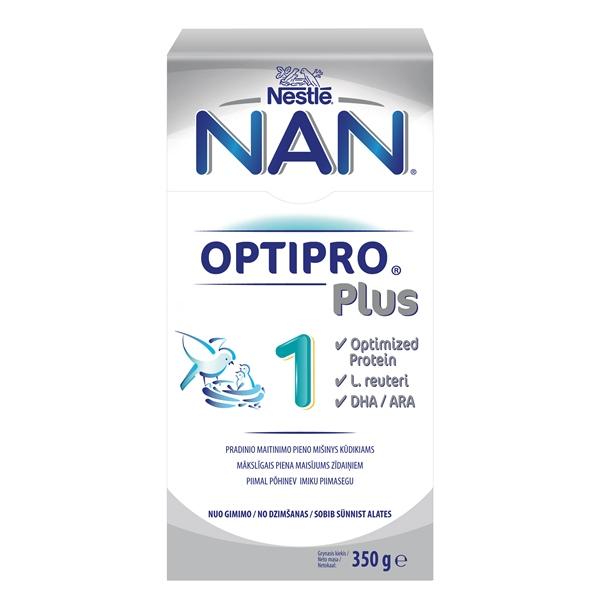 Pradinis pieno mišinys kūdikiams NAN 1 Optipro Plus L.Reuteri 0-6 mėn. kūdikiams, 300g