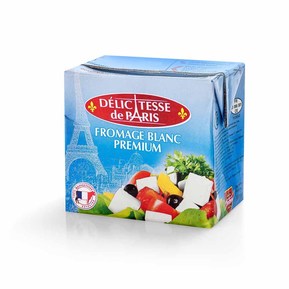 Sūris DELICATESSE DE PARIS White Cheese, 500g