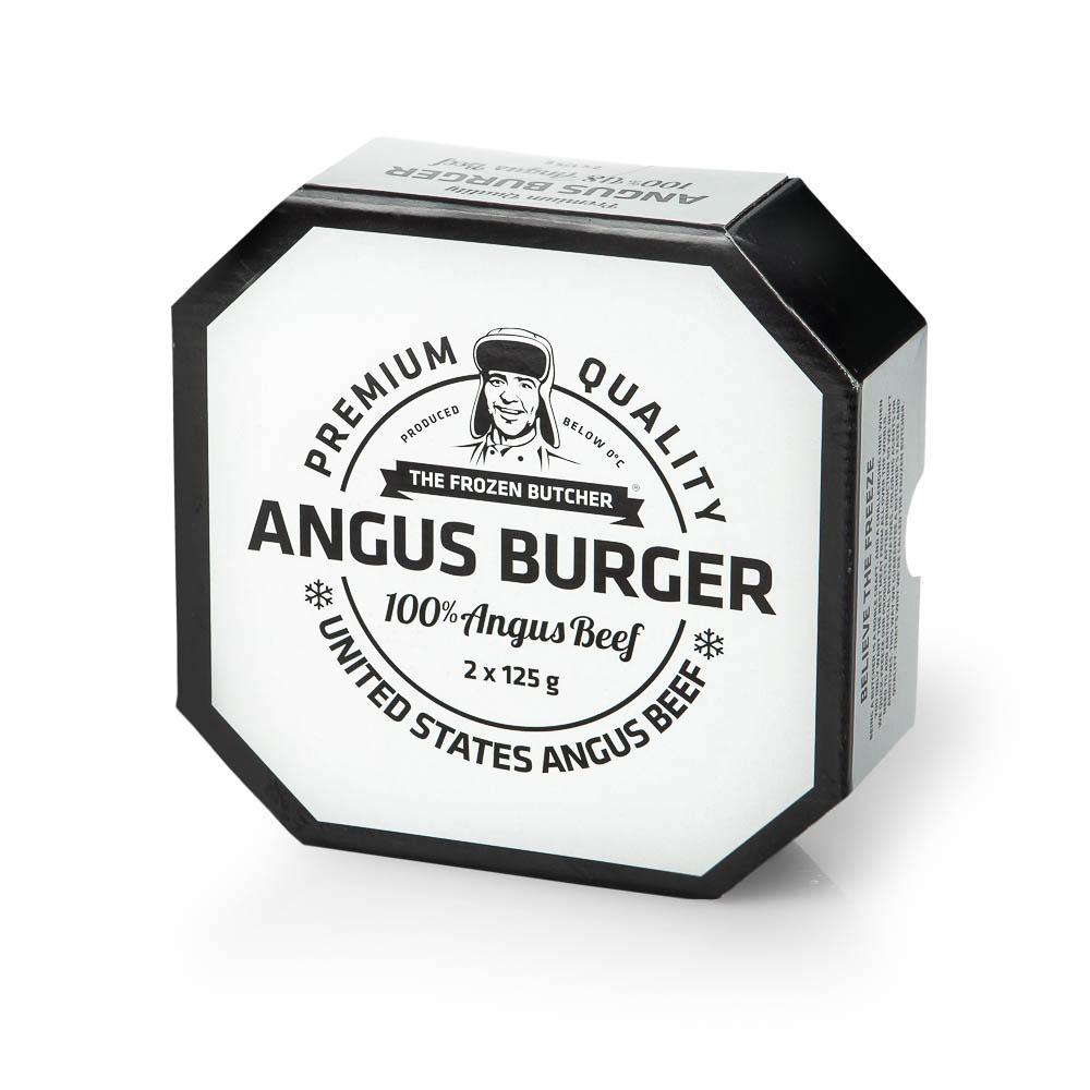 Angus jautienos mėsainių paplotėliai THE FROZEN BUTCHER, 250g