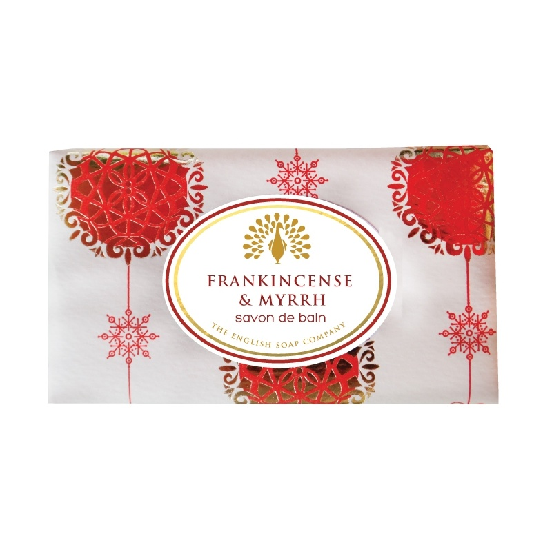 Muilas dovanoms Vintage FRANKINCENSE & MYRRH, English Soap, 200 g