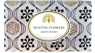Muilas dovanoms Vintage WINTER FLOWER  English Soap, 200 g