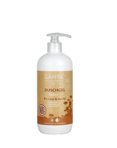 Sante Bio – Coco&Vanilla dušo gelis, 500 ml