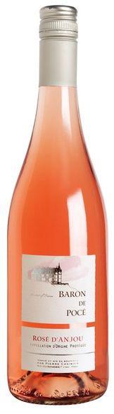 RAUSVASIS VYNAS Pierre Chainier Baron de Poce Rose d'Anjou AOP, 10,5% tūrio, 0,75 l