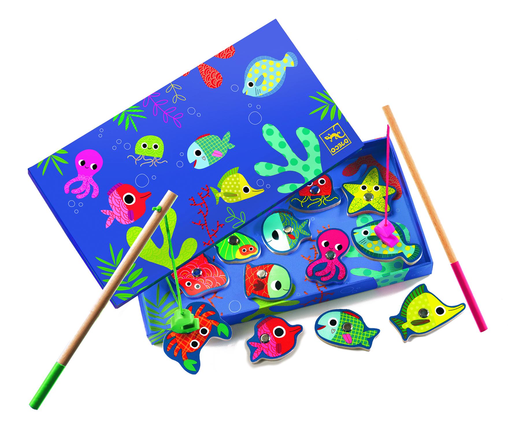Magnetinis žaidimas Pagauk žuvytę DJECO vaikams nuo 2 metų (DJ01653)