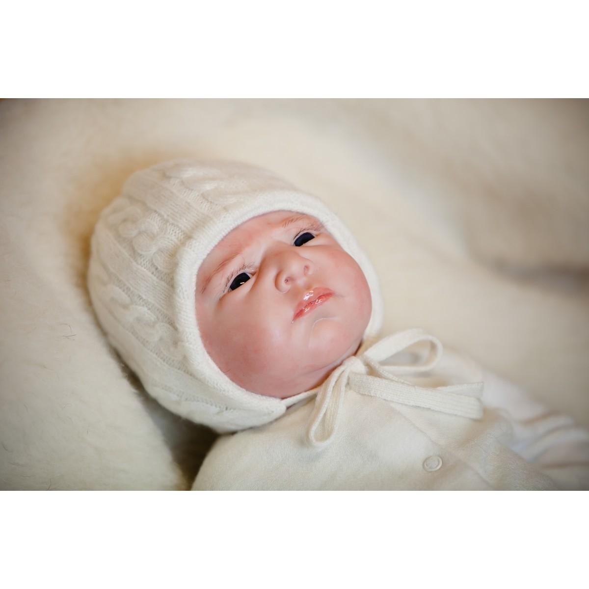 100% merino vilnos kepuraitė kūdikiui VILAURITA, 40 cm, 44 cm, 48 cm (63)