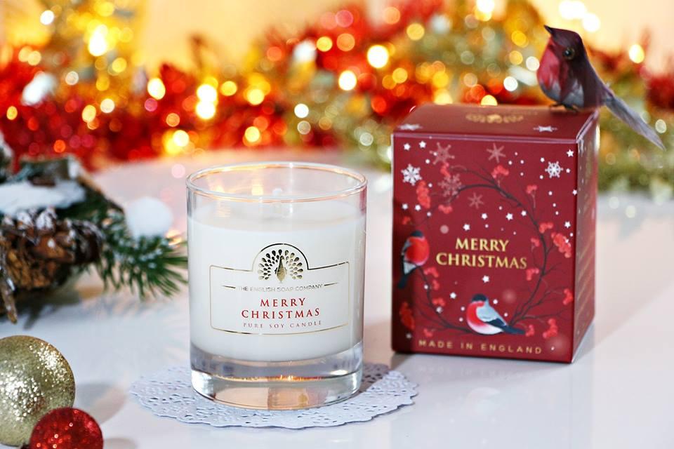 Žvakė dovanoms Merry Christmas ENGLISH SOAP, 1 vnt.