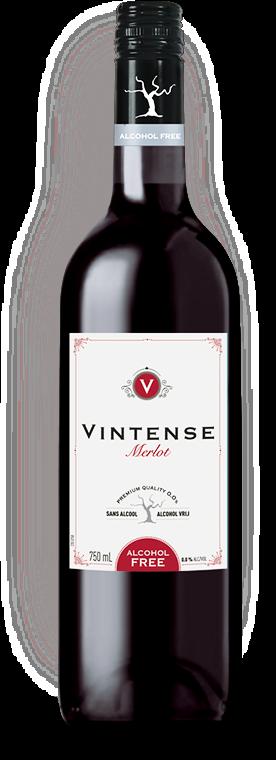 """Vynas""""VINTENSE MERLOT"""" 0,0% alc vol 0,75l"""