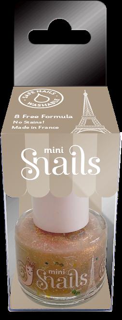 Vaikiškas nagų lakas SNAILS Mini Auksinis lietus vaikams nuo 3 metų, 7 ml (8207)