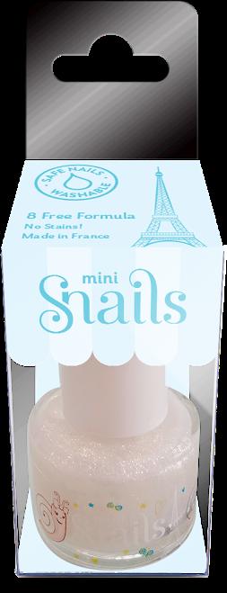 Vaikiškas nagų lakas SNAILS Mini Ledo Karalienė vaikams nuo 3 metų, 7 ml (8177)