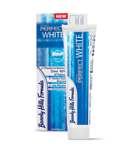 Balinanti dantų pasta BEVERLY HILLS FORMULA Perfect White, 130 g