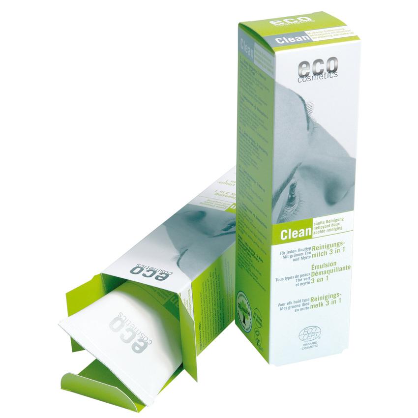 Valantis pienelis ECO COSMETICS su žaliąja arbata ir mirtomis, 125  ml