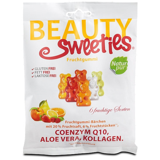 GUMINUKAI Meškiukai Beauty Sweeties, 125g