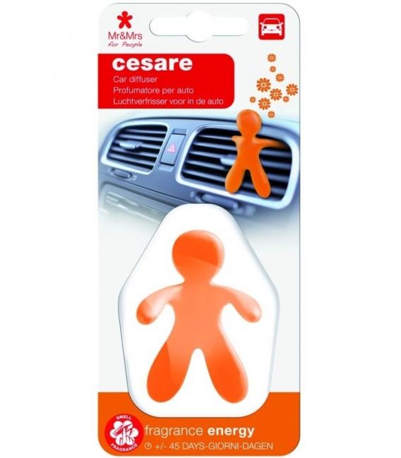 Automobilių oro gaiviklis CESARE plastikinėje pakuotėje – ENERGY, Mr&Mrs Fragrance