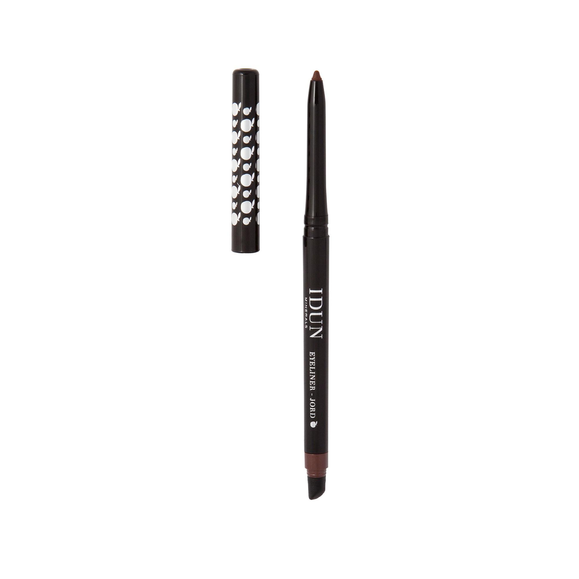 Išsukamas akių pieštukas, rudos spalvos IDUN MINERALS Jord, 0,35 g
