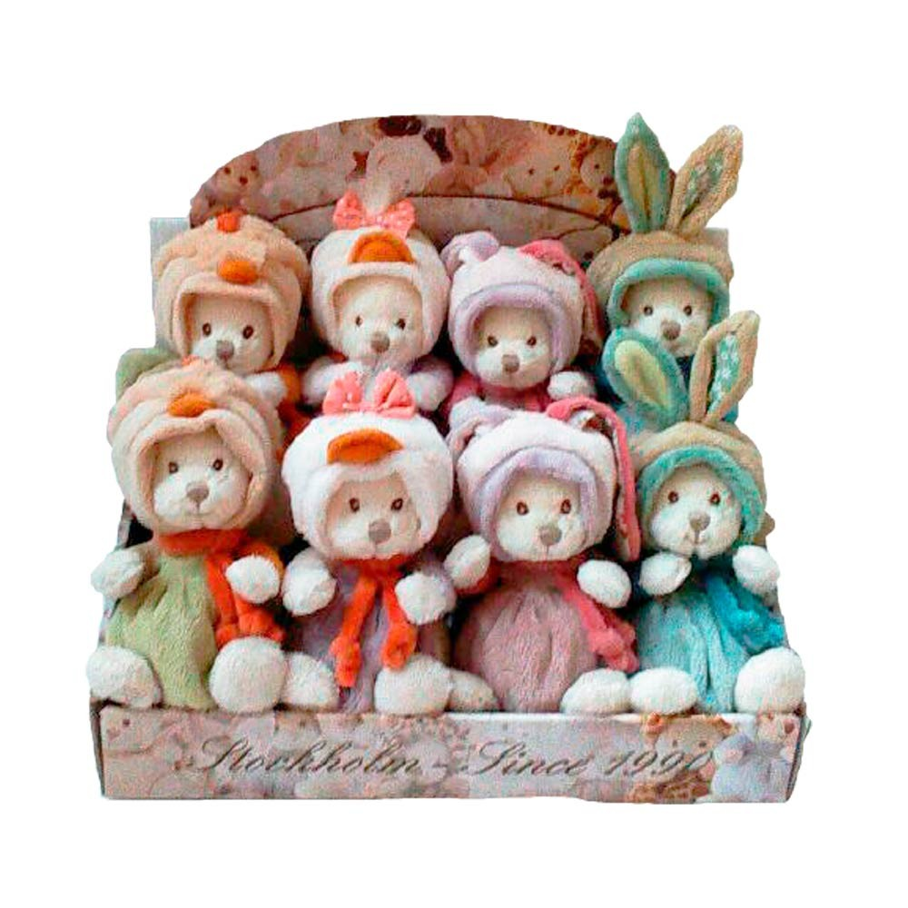 Minkštas žaislas BUKOWSKI Ziggy Laiminga šeima, 15 cm