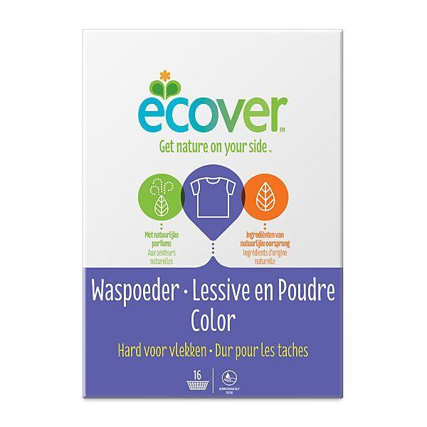 ECOVER Skalbimo milteliai spalvotiems audiniams, 1,2kg
