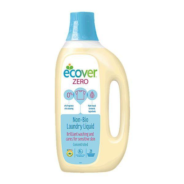 ECOVER Zero bekvapis skystas skalbiklis jautriai odai, 1,5L, 21 skalbimas