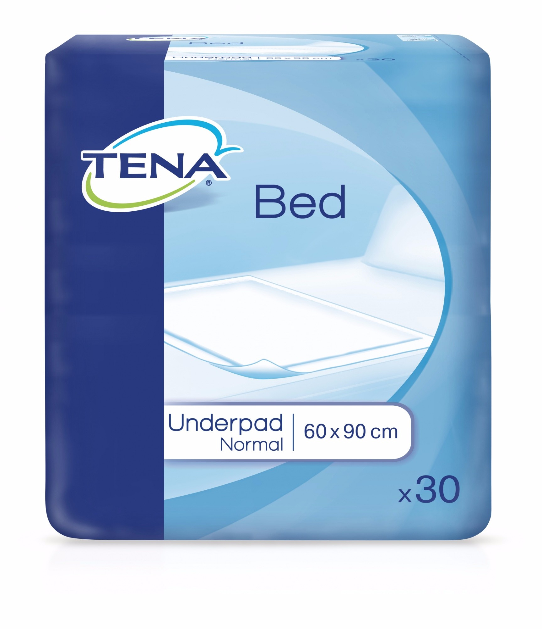 Tena Bed Plus Secure Zone paklotai 60x90cm, 30 vnt
