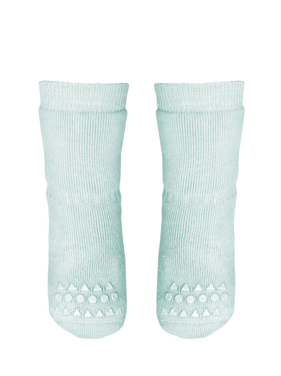 Mėtinės kojinaitės GOBABYGO 6-12 mėn. vaikams