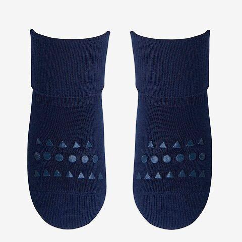 Mėlynos bambukinės kojinaitės GOBABYGO 1-2 metų vaikams