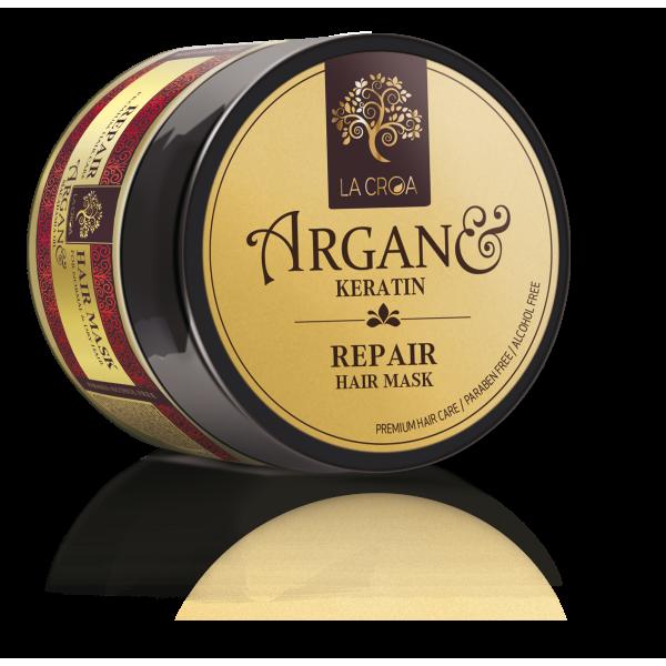 Plaukų kaukė LA CROA REPAIR pažeistiems, dažytiems ir chemiškai paveiktiems plaukams, 200 ml