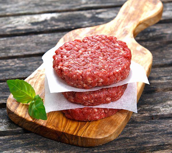 Sausai brandintas jautienos mėsainių paplotėlis PRIME BEEF