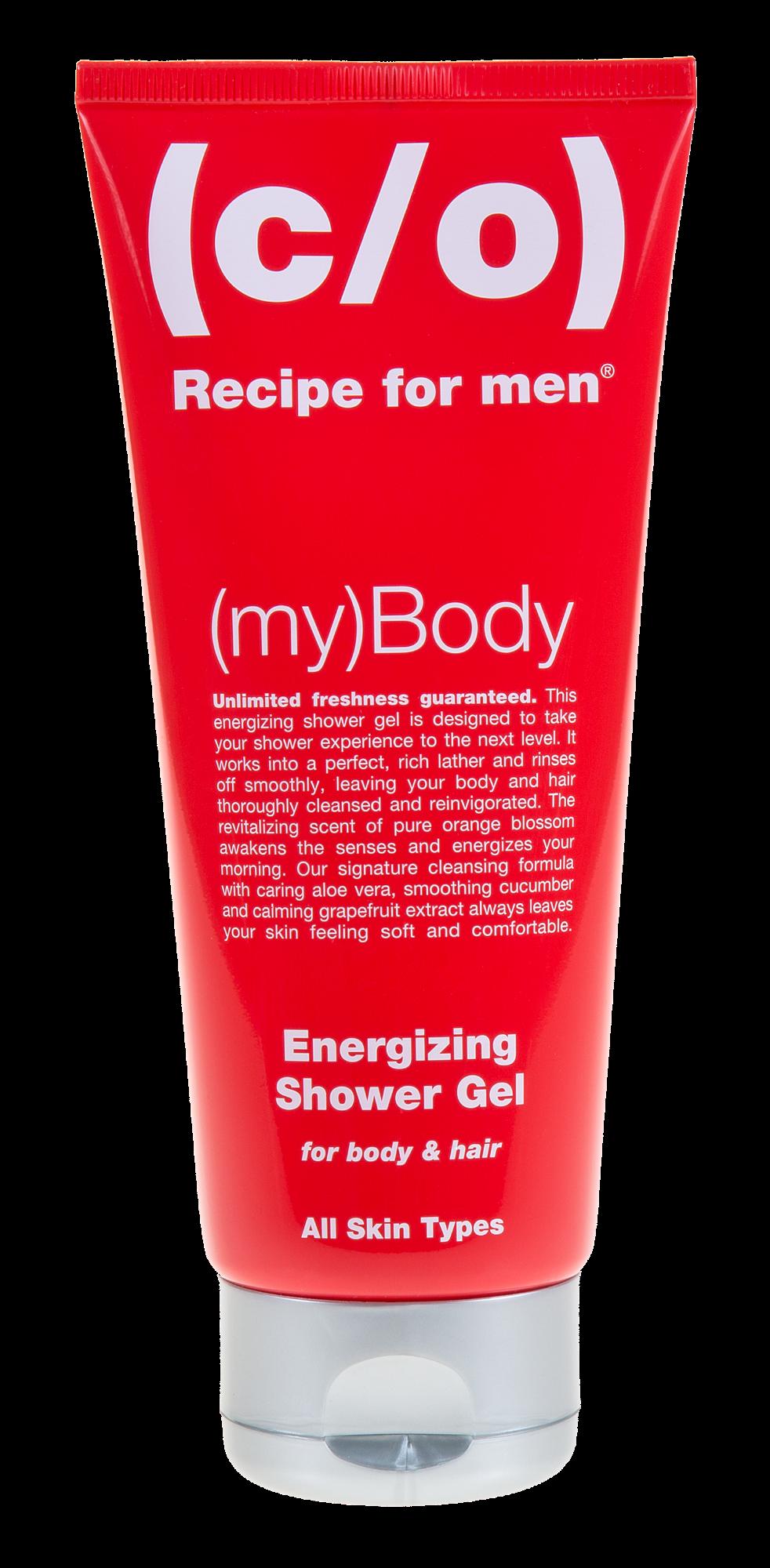 Energijos suteikiantis šampūnas ir prausiklis 2in1  RECIPE FOR MAN C/O, 200 ml