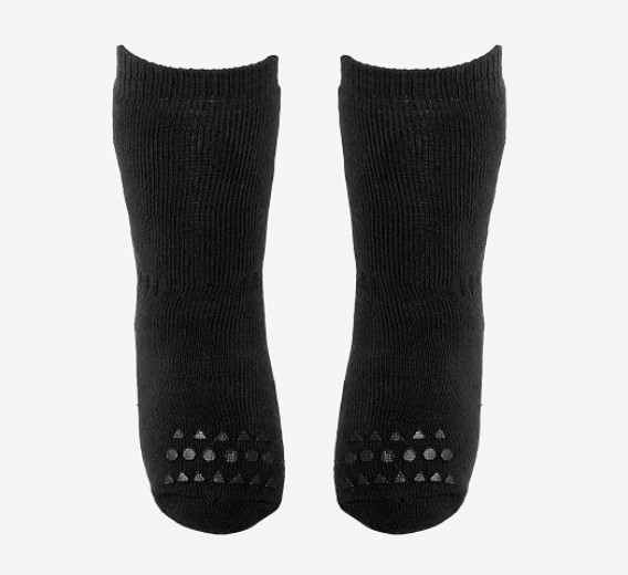 Juodos kojinaitės GOBABYGO 6-12 mėn. vaikams