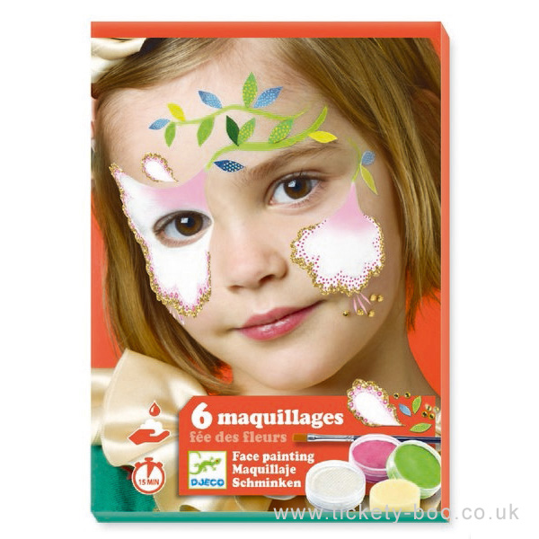 Veido dažai DJECO Gėlių fėja vaikams nuo 3 metų (DJ09204)