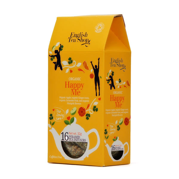 Ekologiška arbata ENGLISH TEA SHOP Happy Me, 16 maišelių