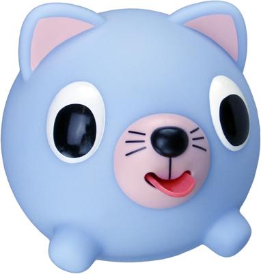 Emocinis žaisliukas JABBER BALL Melsva katytė vaikams nuo 18 mėn.
