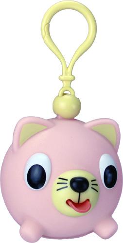 Emocinis žaisliukas-pakabukas JABBER BALL JR. Rožinė katytė vaikams nuo 18 mėn.