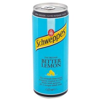 Gazuotas gėrimas SCHWEPPES Bitter lemon, 330 ml