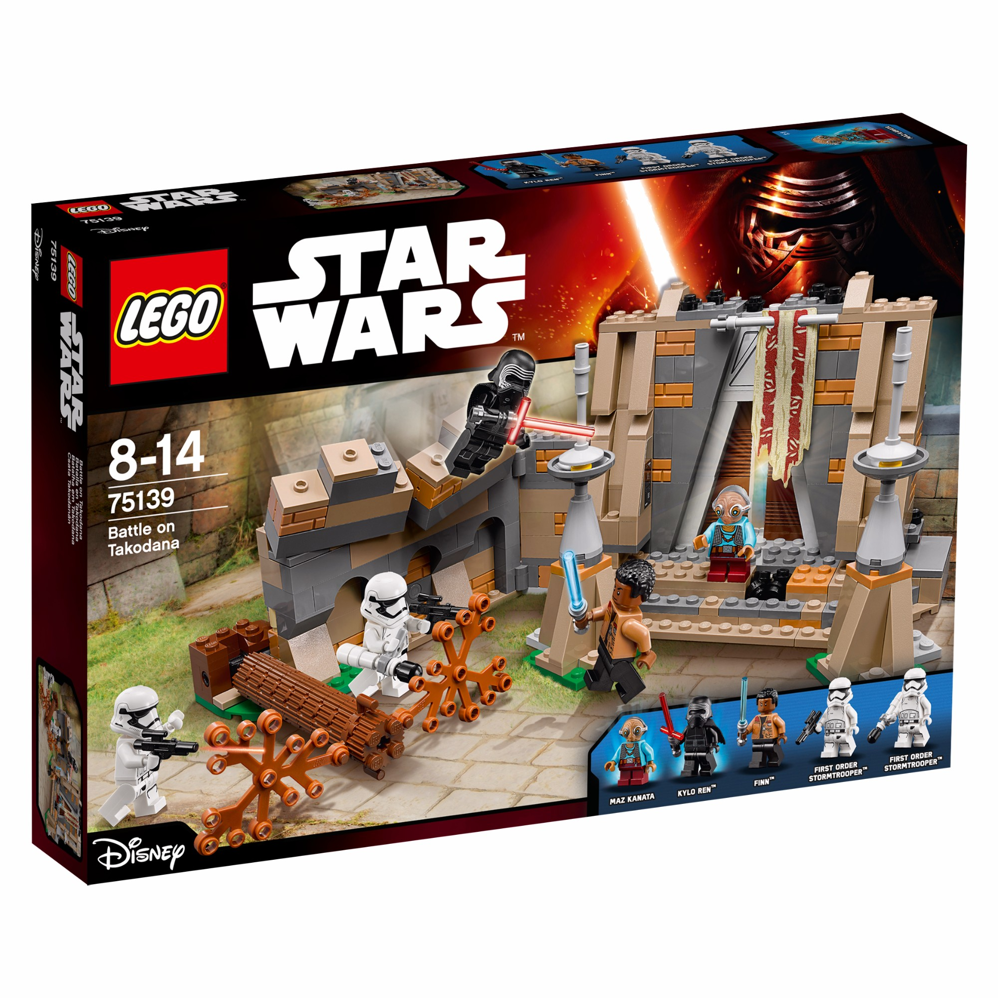 Konstruktorius LEGO Star Wars™ Battle on Takodana 8-14 m. vaikams (75139)