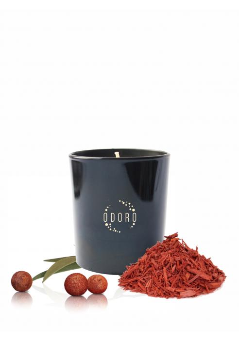 """Aromatinė žvakė ODORO """"Santalas"""", 1 vnt."""