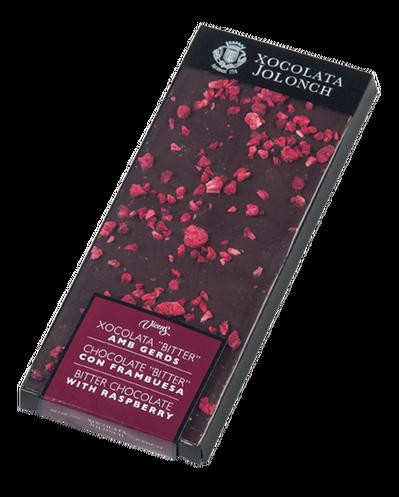 Kartusis šokoladas su avietėmis JOLONCH, 100g