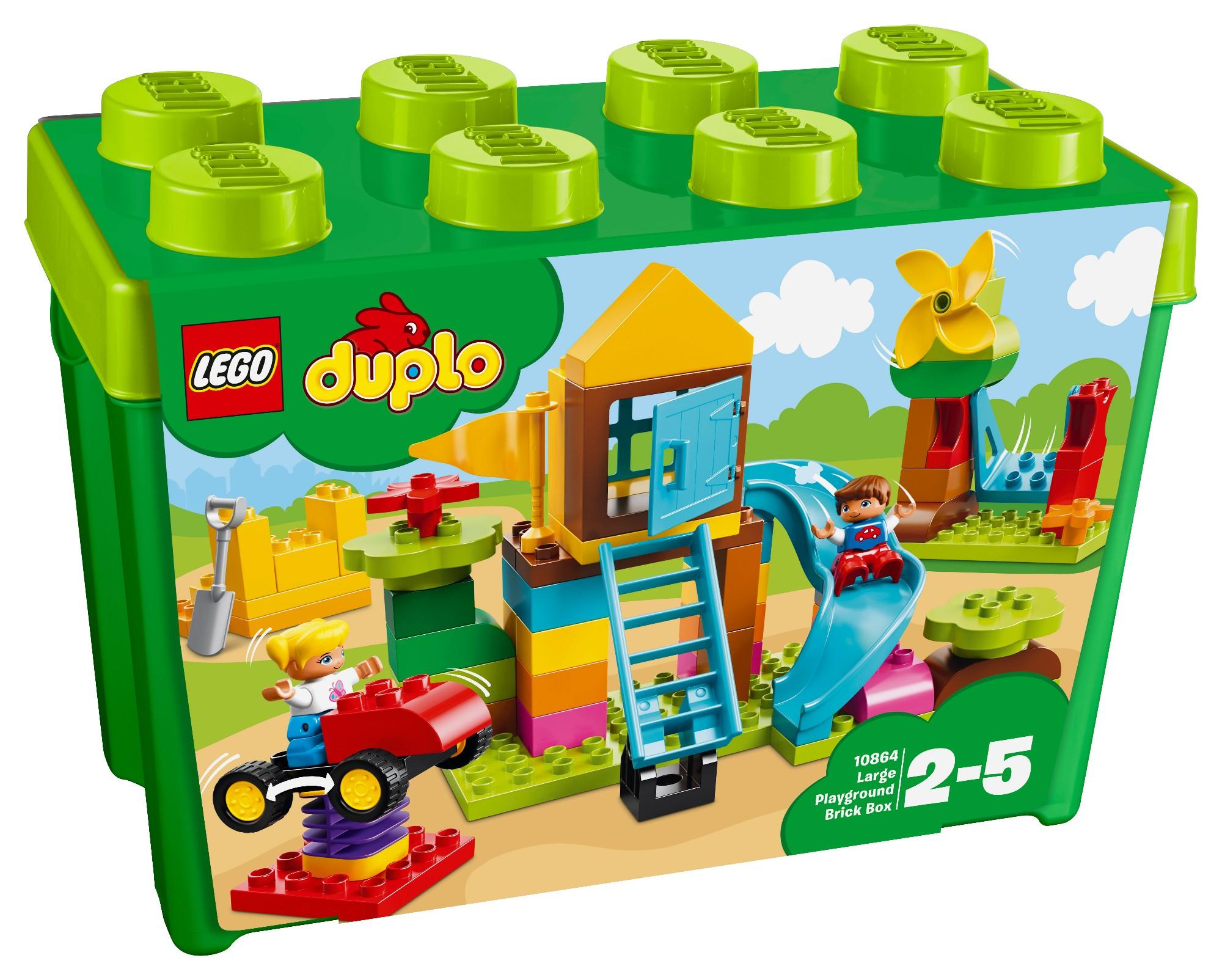 Konstruktorius LEGO DUPLO Žaidimų aikštelės kaladėlių dėžutė 2-5 metų vaikams (10864)