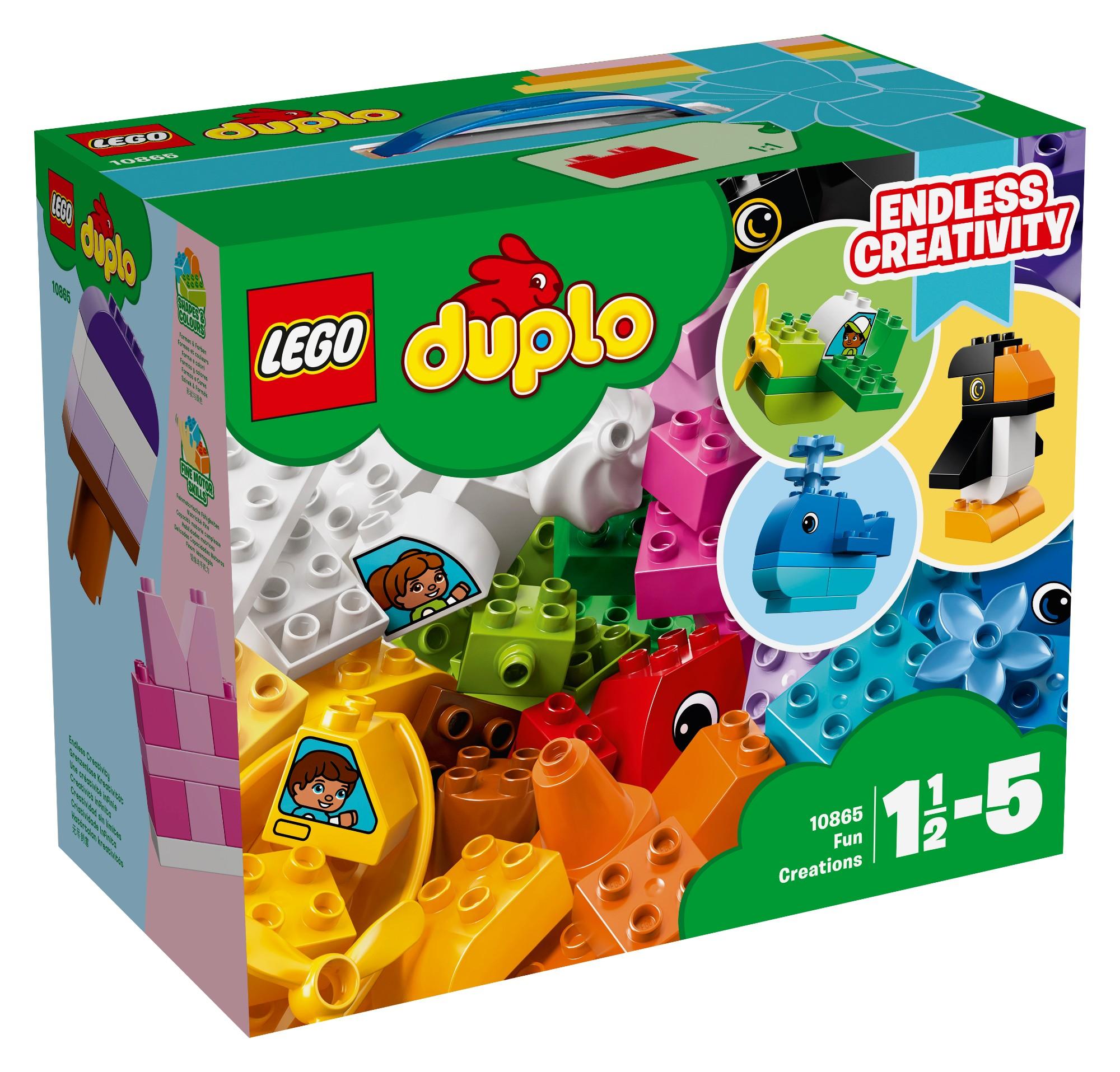 Konstruktorius LEGO DUPLO Smagūs kūriniai 2-5 metų vaikams (10865)