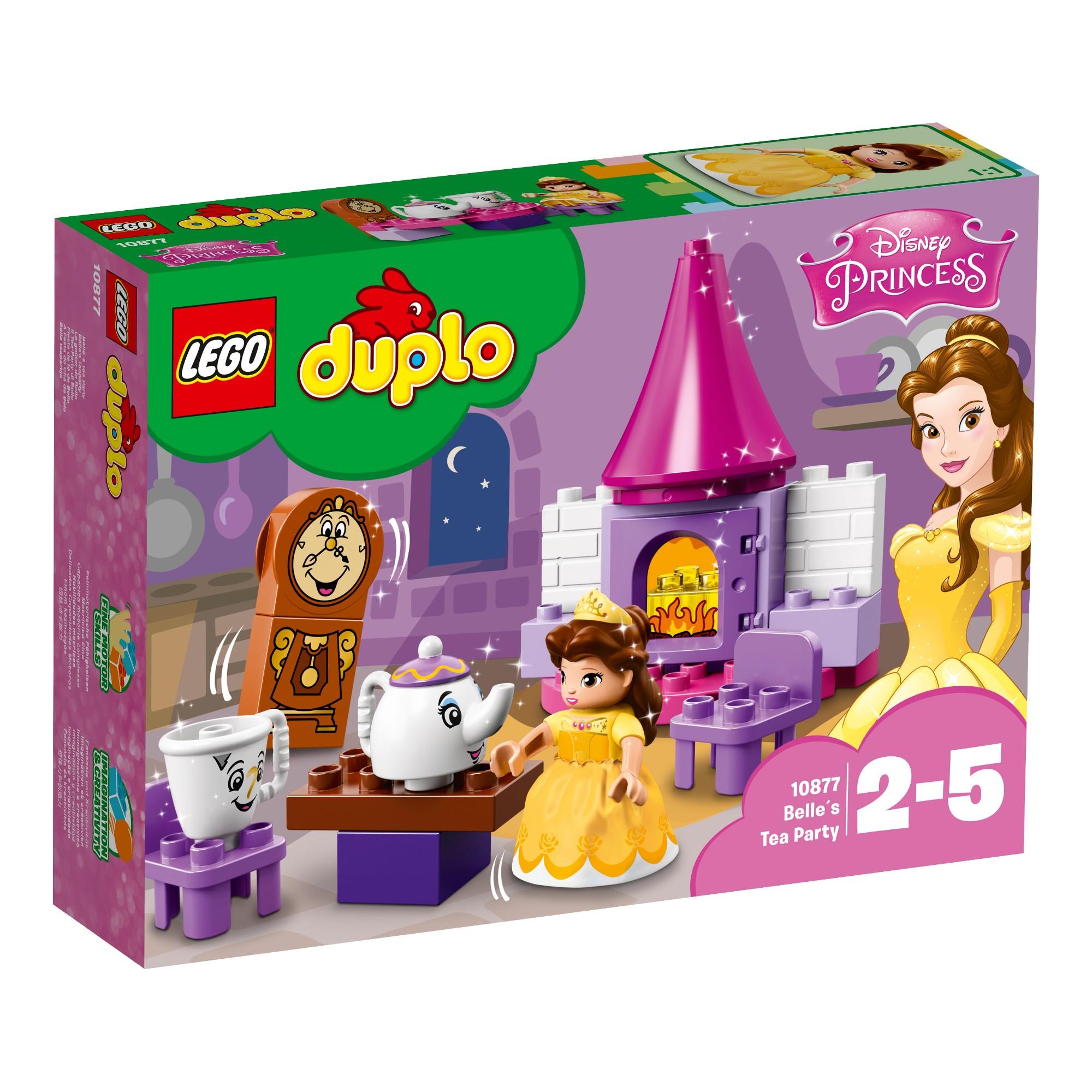 Konstruktorius LEGO DUPLO Gražuolės arbatėlė 2-5 metų vaikams (10877)