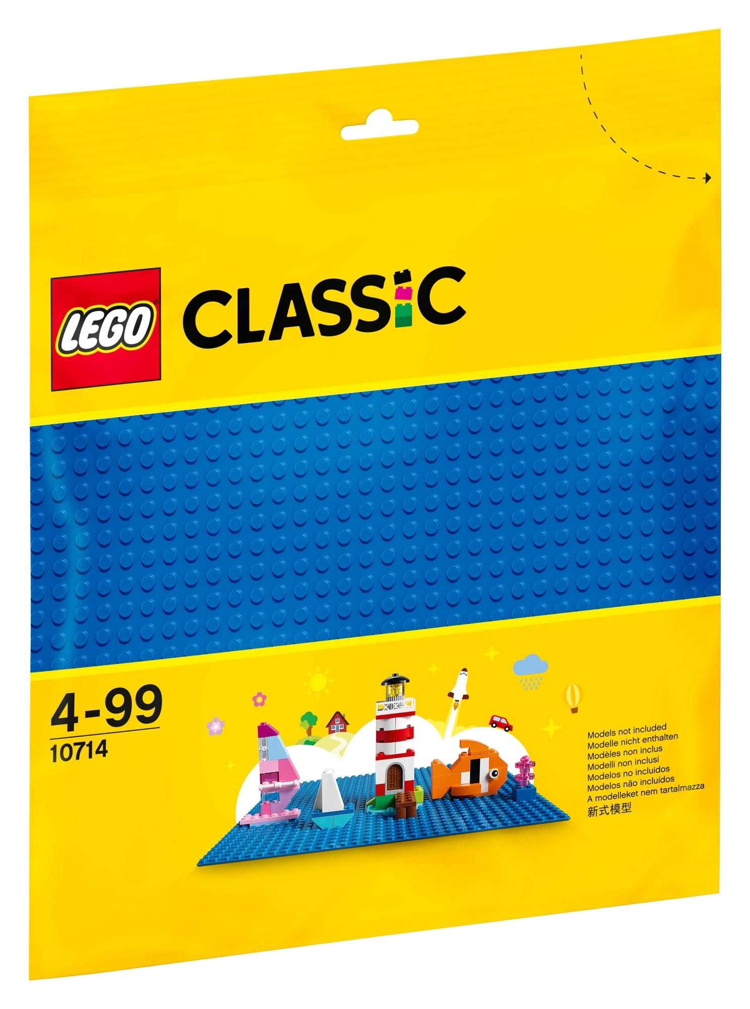Mėlyna pagrindo plokštė LEGO CLASSIC vaikams nuo 4 metų (10714)