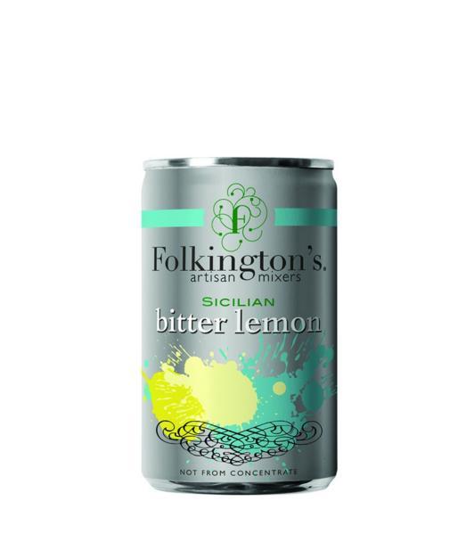 Gazuotas gėrimas FOLKINGTON'S BITTER LEMON, 150ml