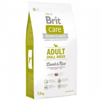 Sausas maistas šunims BRIT CARE Adult Small Breed Lamb&Rice, 7,5 kg