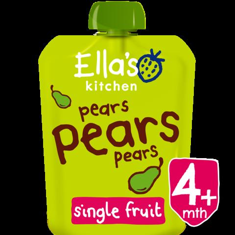 EKOLOGIŠKA Ella's Kitchen KRIAUŠIŲ tyrelė kūdikiams nuo 4 mėn, 70g