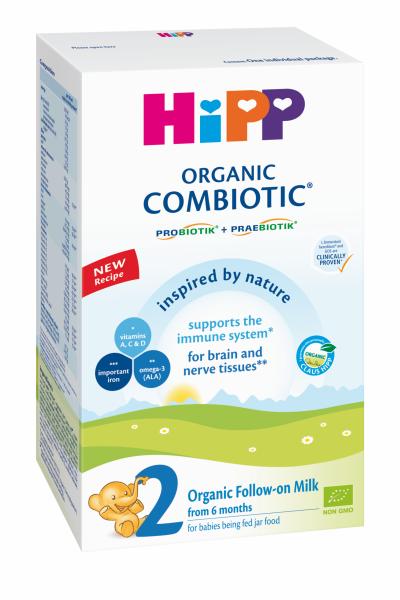 Ekologiškas tolesnio maitinimo pieno mišinys HIPP 2 COMBIOTIC (nuo 6 mėn.), 300 g