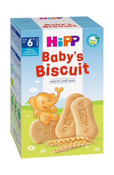 Sausainiai kūdikiams HIPP BIO (nuo 6 mėn.), 150 g