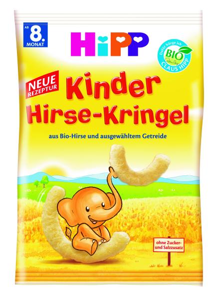 Ekologiškos kukurūzų lazdelės HIPP (nuo 8 mėn.), 30 g