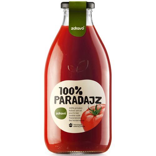 Aštrios pomidorų sultys ZDRAVO, 750 ml